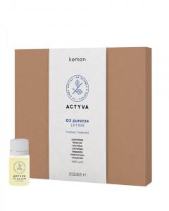Actyva 02 Purezza Очищающий лосьон против перхоти 12 FI. 6 ml.