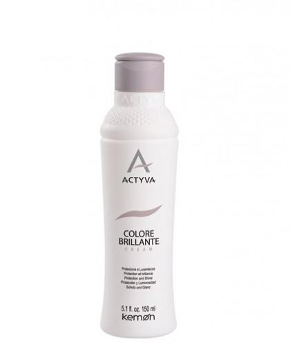 Colore Brillante Cream крем несмываемый для защиты цвета и блеска окрашенных волос, 150 ml