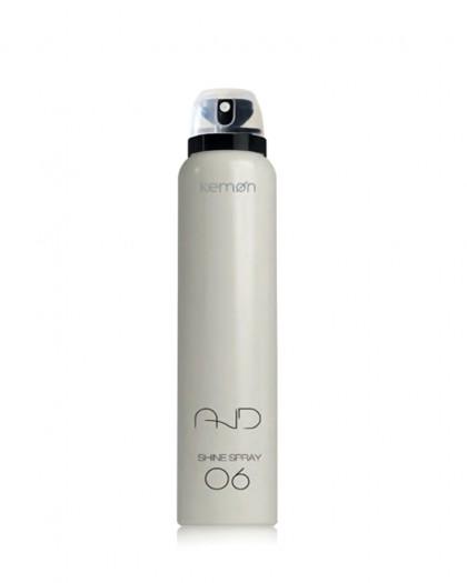 Shine Spray 06 Легкий термозащитный спрей для блеска 'Антистатик' 200 мл