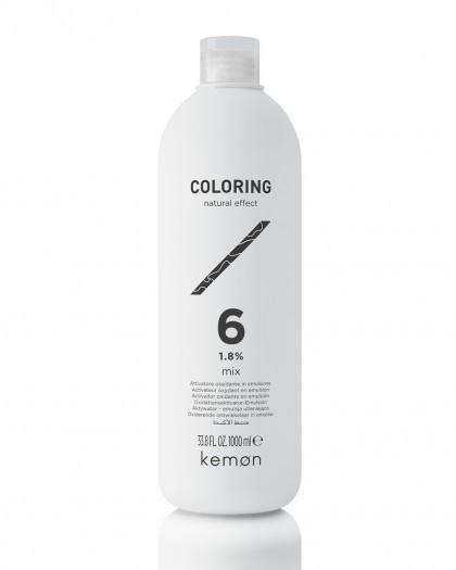 COLORING Mix 6 Vol (1,8%)  Активатор окисляющая эмульсия                                     1000 ml