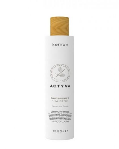 Benessere Shampoo шампунь успокаивающий для чувствительной и раздраженной кожи головы, 250 ml sn